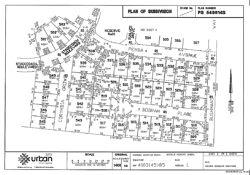 Subdivision Plan Lgam Knowledge Base